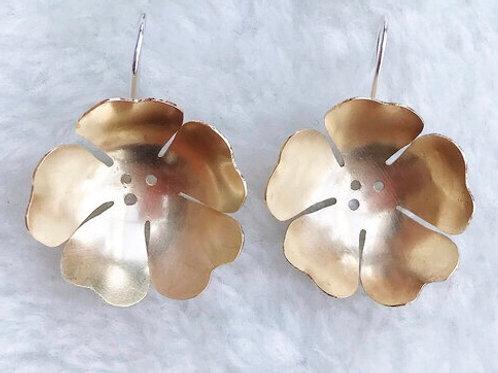 Dottir Large Poppy Dangle Earrings