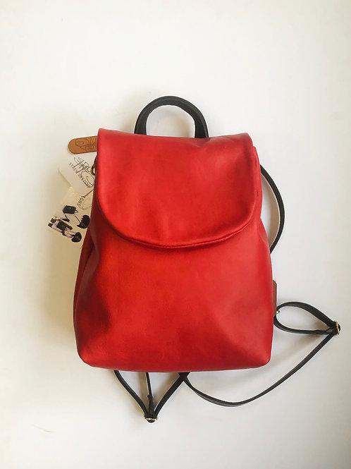 Strey Designs Minimal Circuit Backpack-Red