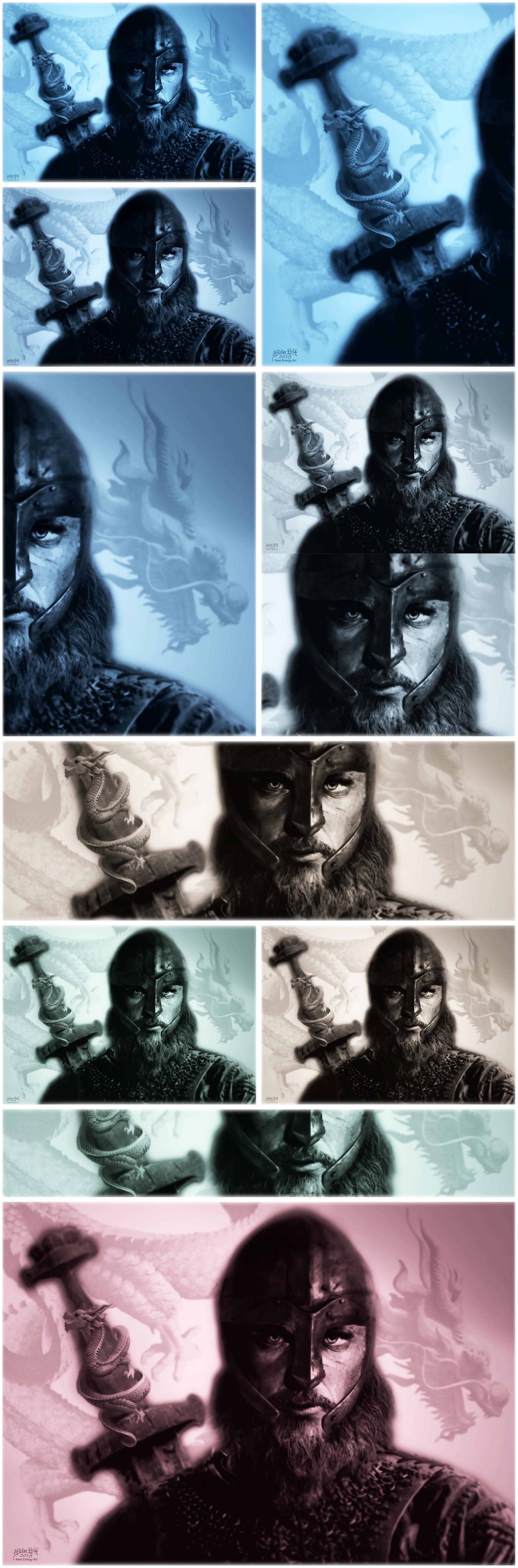 Viking Warrior DRAGON v6 COLLECTION 2019