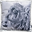 Thumbnail: Velvet Cushion Cover | Traditional Sheep