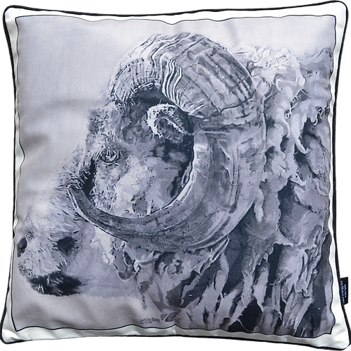 DS Velvet Cushion Cover | Traditional Sheep