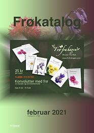 8-siders unik frøkatalog med 68 ulike blomster. Designet og produsert en video som gjenspeiler frøkatalogens innhold. Design av www.frofrahagen.com