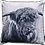 Thumbnail: Velvet Cushion Cover | Highland Cattle