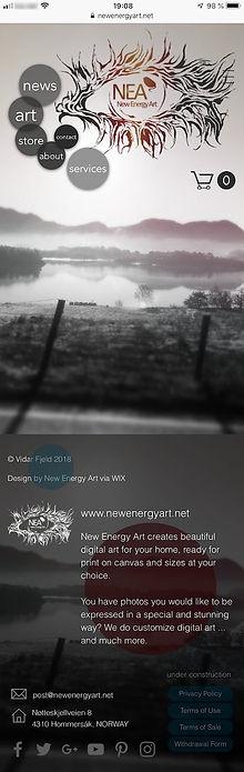 New Energy Art WEBSITE MOBILE HOME _ 72d