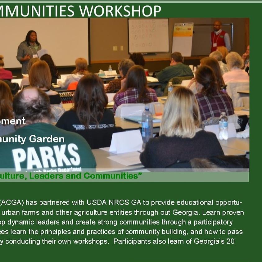Growing Communities Workshop - Columbus, GA