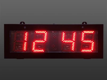 Food Industry LED digital clocks