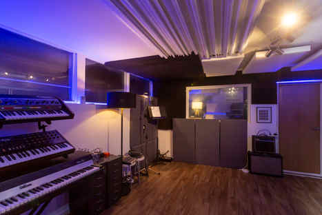 Our Live Room - Beat Tank Recording studios Melbourne
