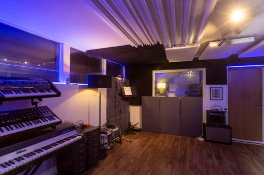 Beat Tank Rcording studio Melbourne - live room