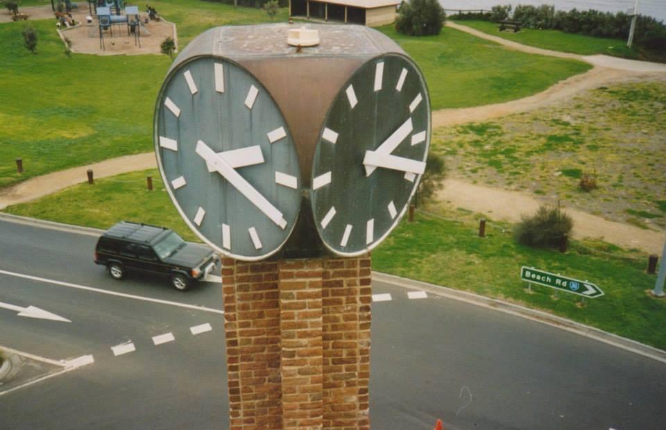 Black Rock Public - Pole Clock
