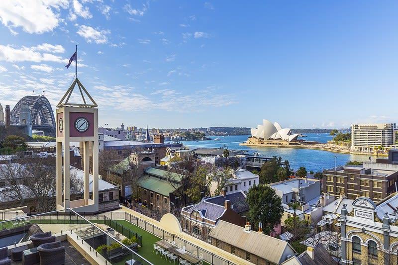 The Rocks Sydney - Tower Clock