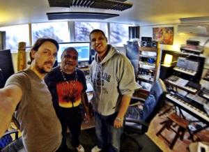 Archie Roach records at Beat Tank Recording Studio Melbourne