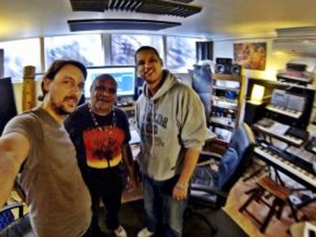 Melbourne Hip Hop producers Meridian Nights work with Archie Roach on Mau Power album