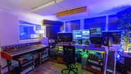 Mixing room of Beat Tank recording studios Melbourne