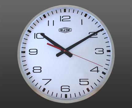 Basic Syncronised Clock System - alumini