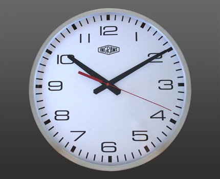 As long as you have wifi in your home or office, you will have perfect time with the Ingrams Wifi clock