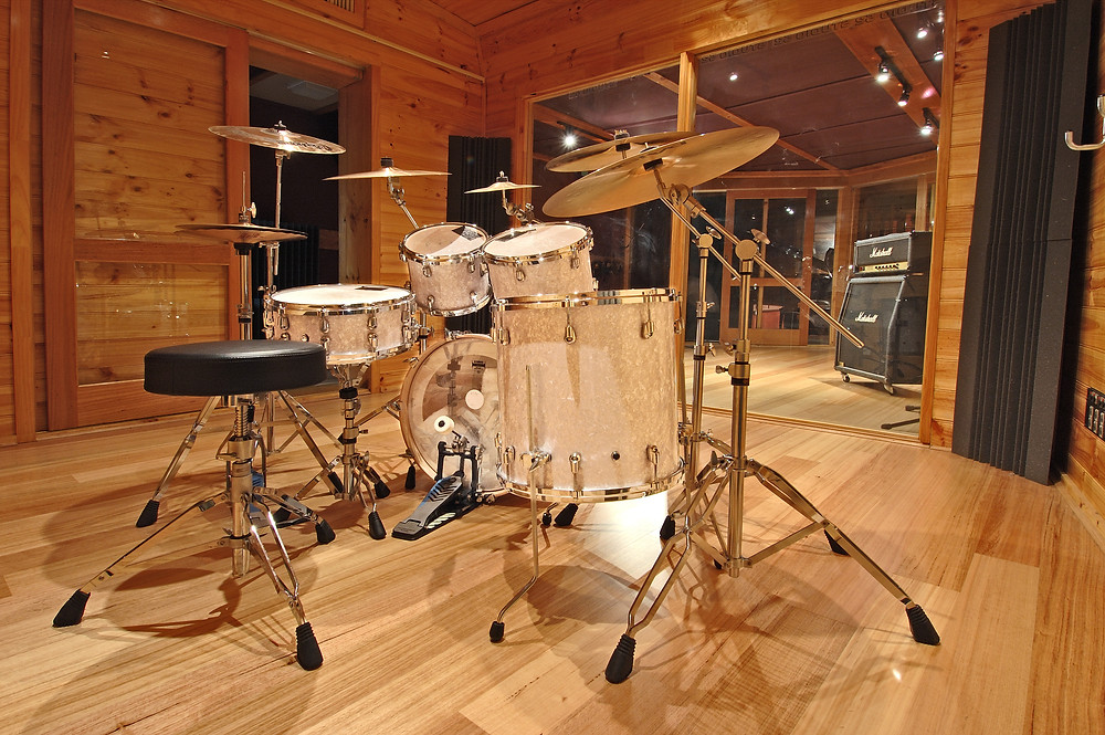 There are many recording studios in Melbourne that have great live rooms but you better be prepared to pay big bucks for them!
