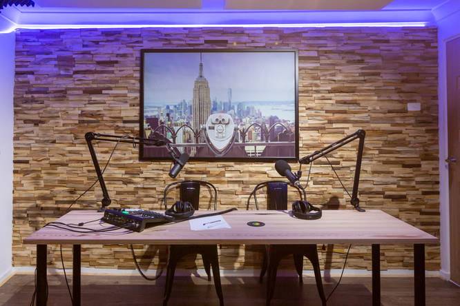 Our Podcast area for hire in Melbourn'e Eastern suburbs