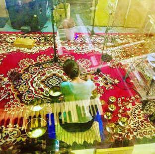 Recording Tibetan Bowls today - very rel