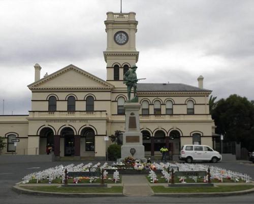 Maryborough Post office - Tower Clock