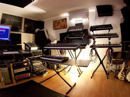 Music composition and sound design in Melbourne studio