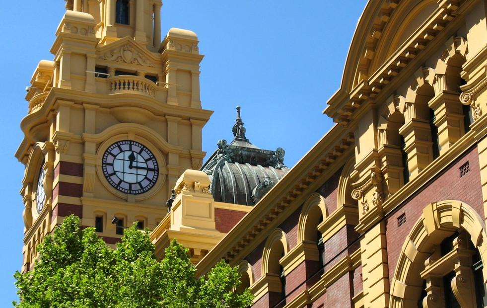 Flinder St Station - Tower Clock
