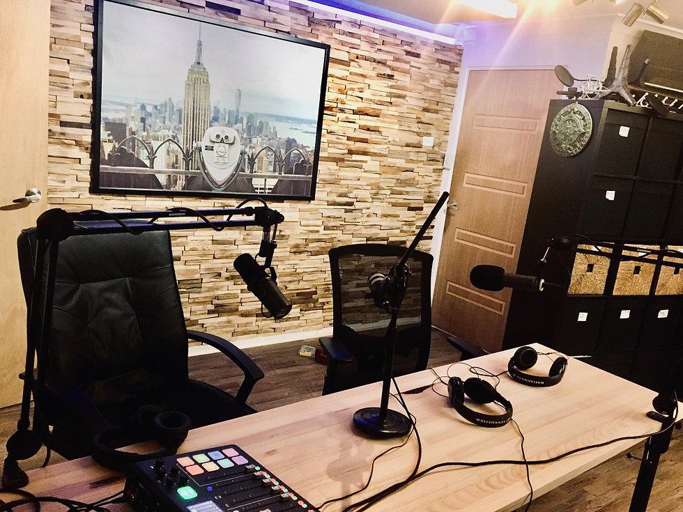 Melbourne podcast studio hire in Melbourne