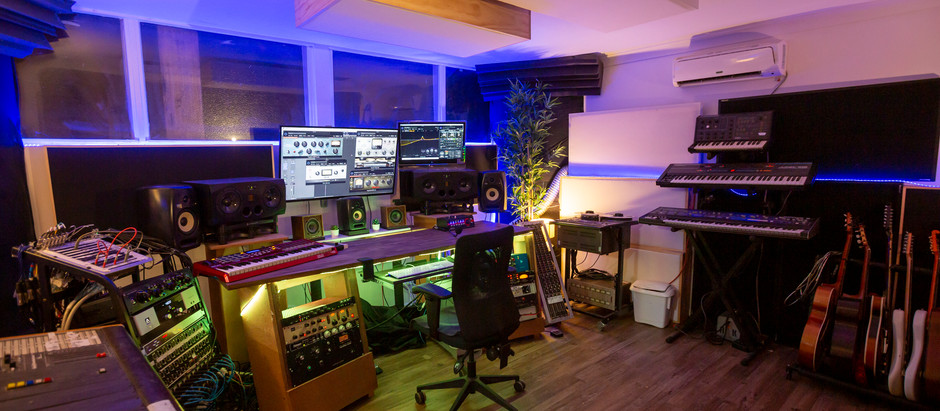 Recording Studio Melbourne | Beat Tank renovation