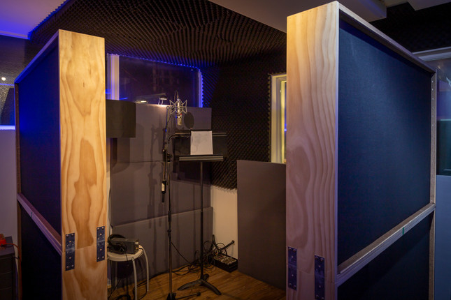 Voice over / vocal booth in Beat Tank Melbourne