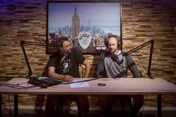 Podcast studio in Melbourne