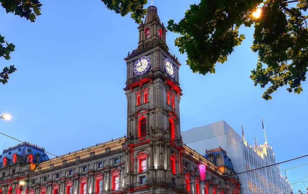 Melbourne GPO - Tower Clock
