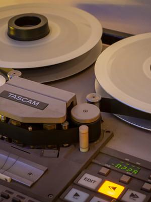 Analog Tape machine Melbourne recording