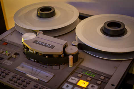Tascam MS-16 tape machine