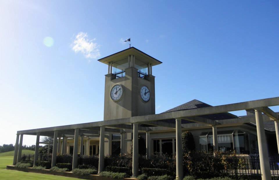 Capitol Golf Club - Tower clock
