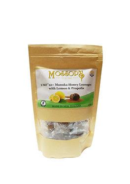 Mossop's UMF12+麥蘆卡蜂蜜喉糖檸檬蜂膠 200克 Manuka Honey Lozenges With Lemon & Propolis