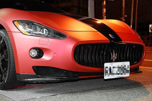 Granturismo Carbon Fibre OEM Front Bumper Side Splitter Add-ons.