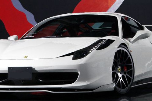 458 AV Full Carbon Fibre 3-Piece Downforce Add-on Body Kit