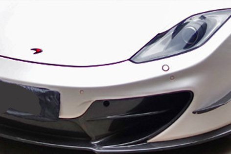 MP4-12c 650s MSO Carbon Fibre One-piece Front Bumper With Splitter And Canards.