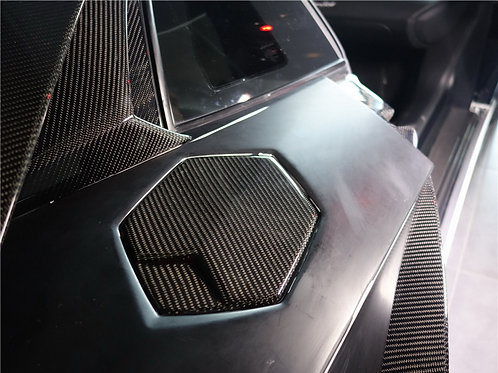 Aventador LP700 OEM Fitment 6-Piece Fully Carbon Exterior Add-on Body Kit.