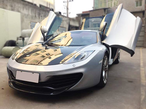 MP4-12c Carbon Fibre YC Extended Twin-Lip Large Downforce Front Splitter.