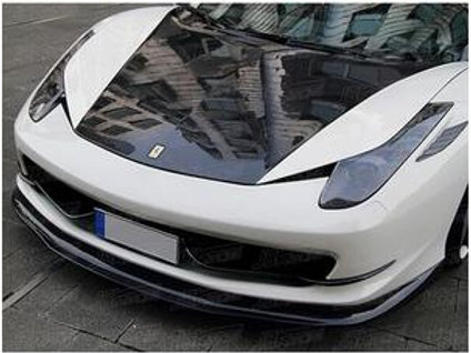 458 3-Piece Fully Carbon Smooth Downforce Add-on Body Kit