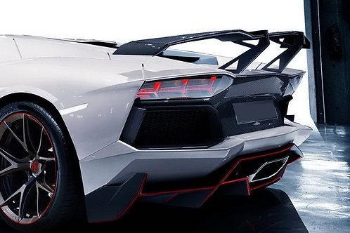 Aventador LP700 RVS LS GT High Level Fully Carbon Fibre Rear Wing
