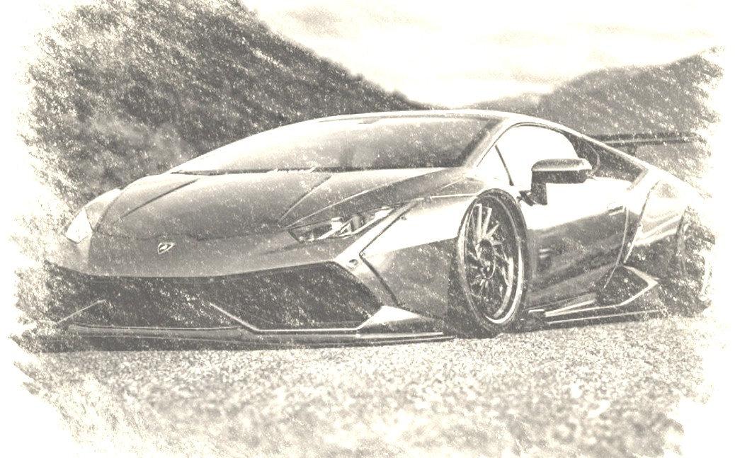Lamborghini Huracan with our Fully Carbon Fibre LB Body Kit!