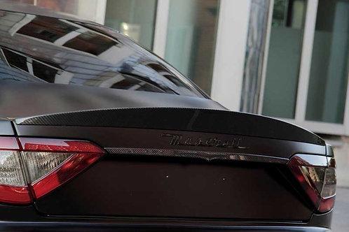 Granturismo Carbon Fibre Rear Duck Tail Boot Lid Lip Spoiler