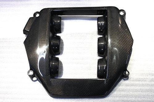 R35 GTR Carbon Fibre OEM Style Engine Cover VG38DETT Panel.