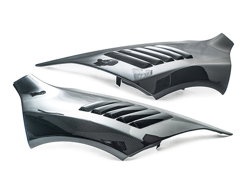 MP4-12c 650s Style Carbon Fibre MSO Vented Front Wings Fenders.