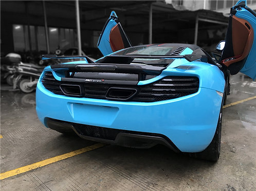 MP4-12c Carbon Fibre YC GT Attack Large Rear Wing Boot Spoiler Add-on.