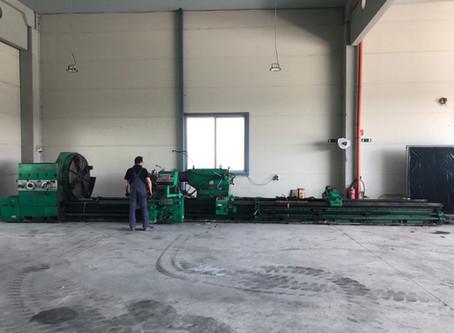 12m heavy duty lathe