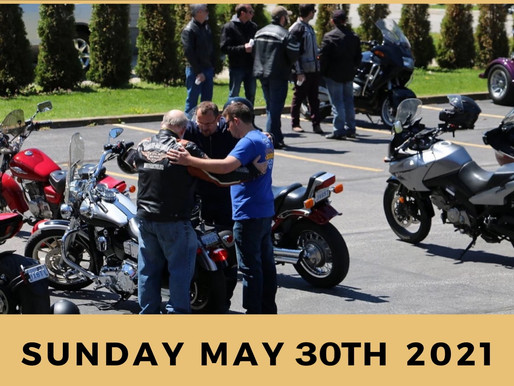 BLESSING OF THE BIKES - NEW DATE: MAY 30th