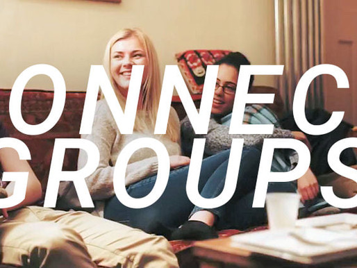 Connect Groups Coming This September!!