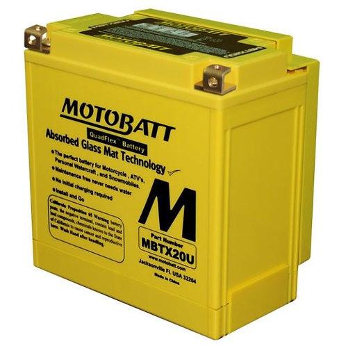 Motobatt MBTX20U - CTX20, CB16B, CB16CLB